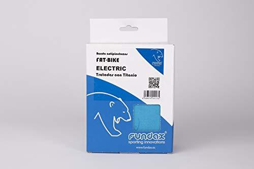 FUNDAX Fat-Bike Electric Lederband für Erwachsene, Unisex, Blau, 66 cm, 27,5 Zoll Plus